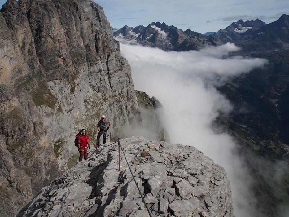 Klettersteig Tälli : Tälli klettersteig bild von